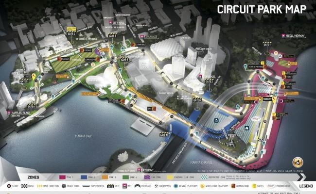 2014 F1シンガポール・グランプリ早期割引チケット